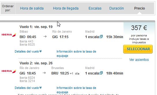 Rio de Janaeiro low cost