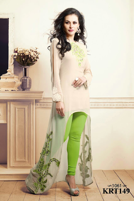 Summer Collection For Fancy Georgette Kurti