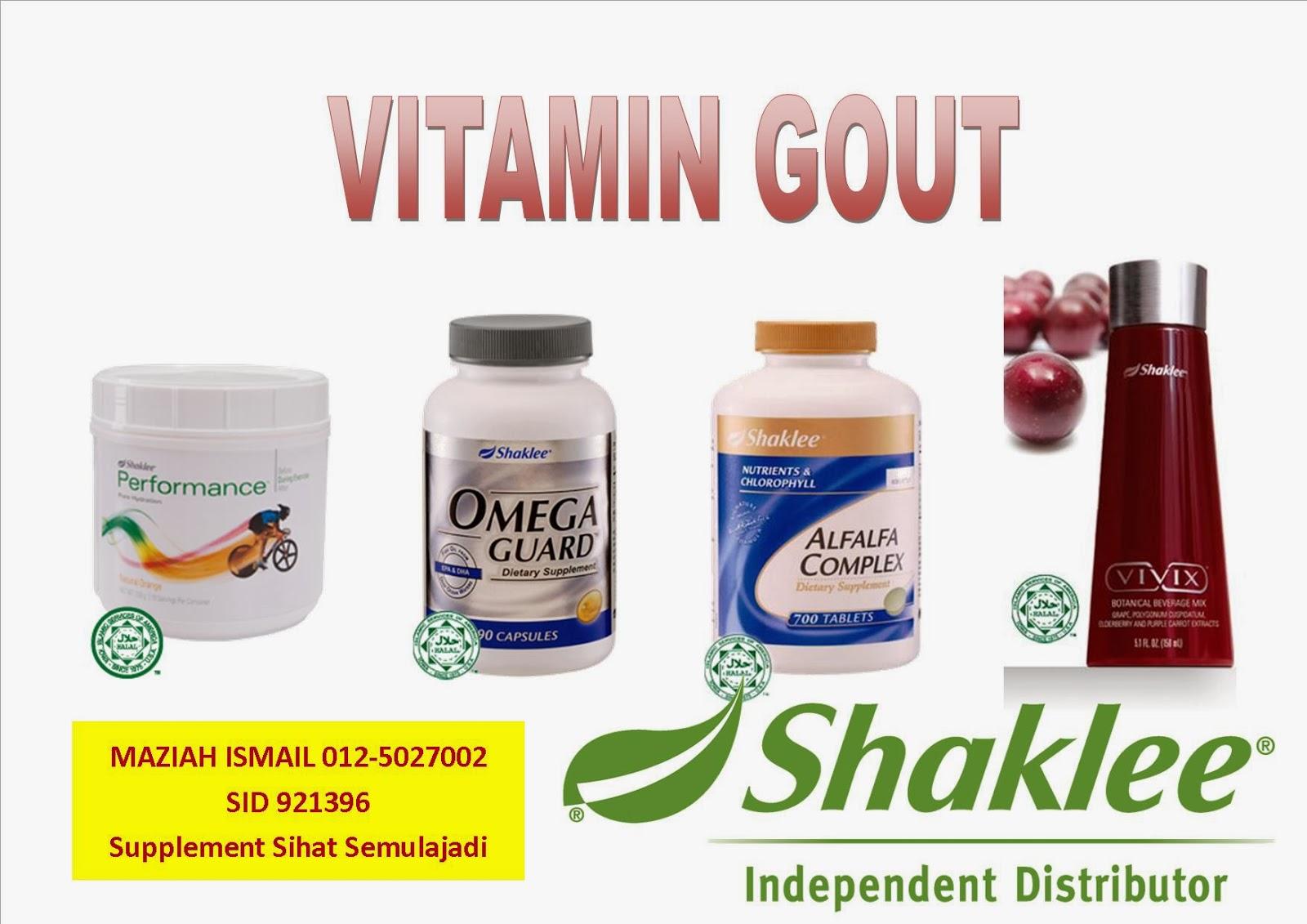 Vitamin Gout Shaklee