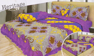 sprei Lady Rose Heritage
