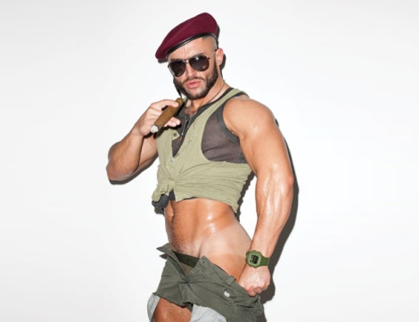 Francois Sagat by Terry Richardson