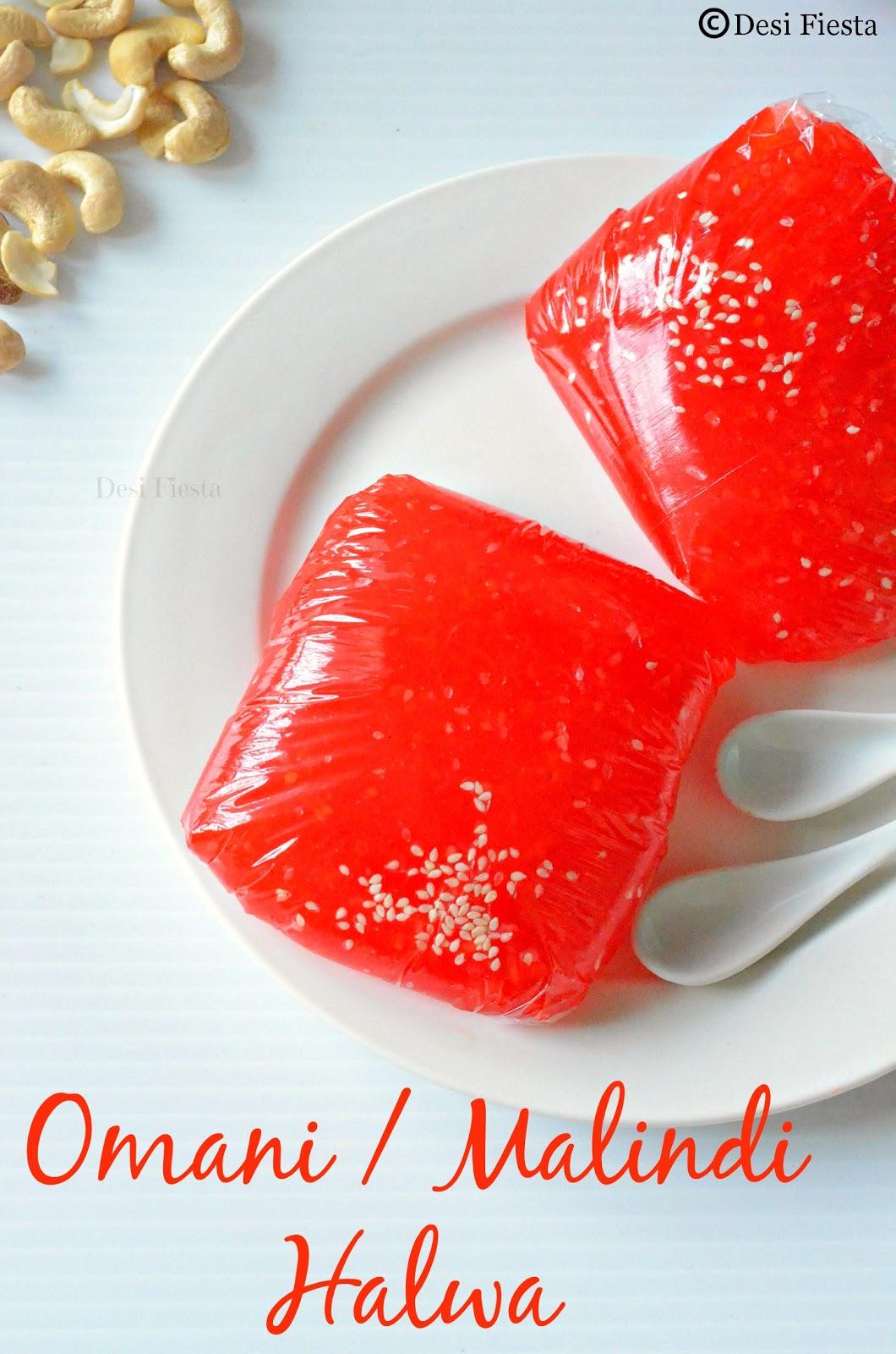 Omani halwa sweets