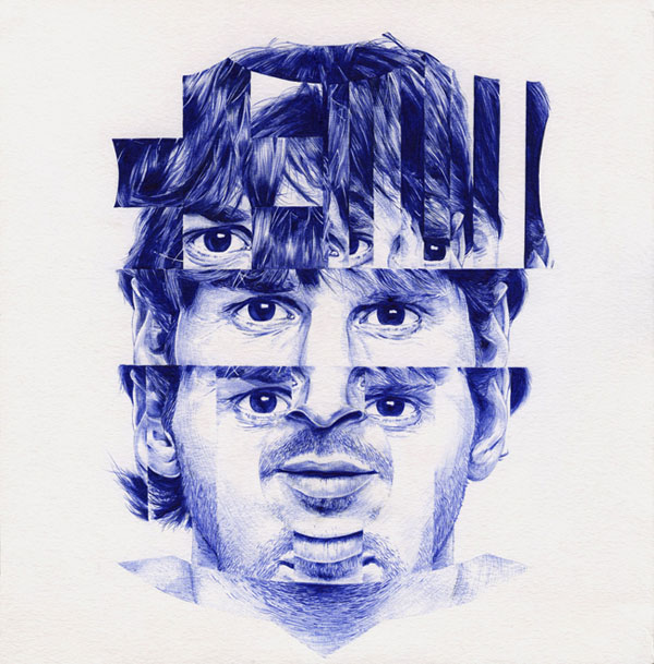 Ballpoint Pen Illustration5
