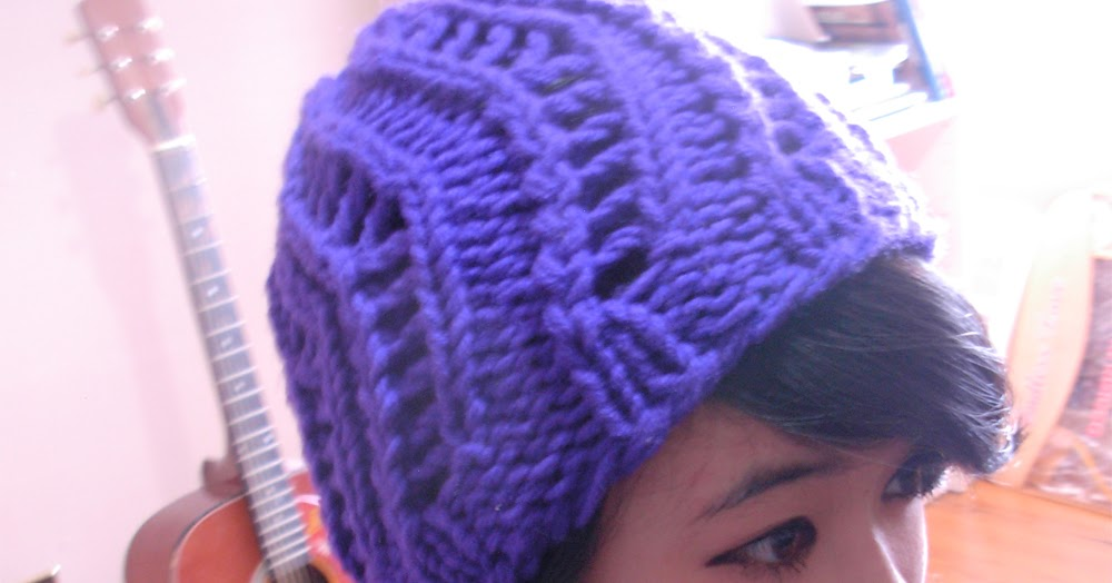 The Casual Loom Knitter: Zig-Zag Spring Hat Pattern