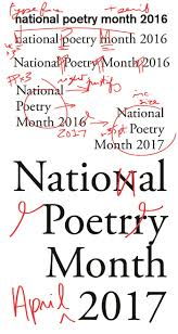 National Poetry Month 2017