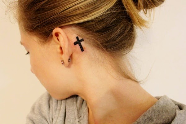 Best Behind The Ear Tattoos For Man Image Collection