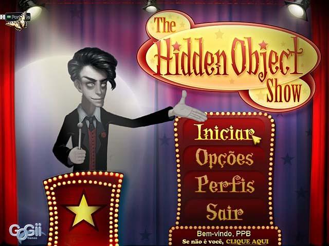 The Hidden Object Show PT-BR Portable