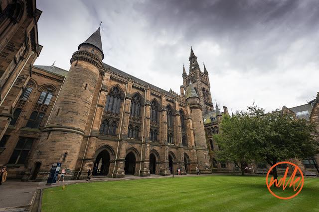 Glasgow University Chapel Wedding Photography