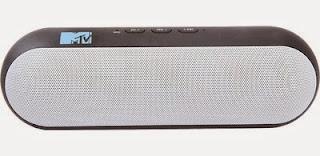 MTV FASHIONTRONIX by SoundLogic Capsule Mobile Speaker