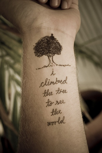meaningful quote tattoos
