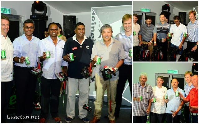 Some of the winners at the Heineken Green Experience 2013