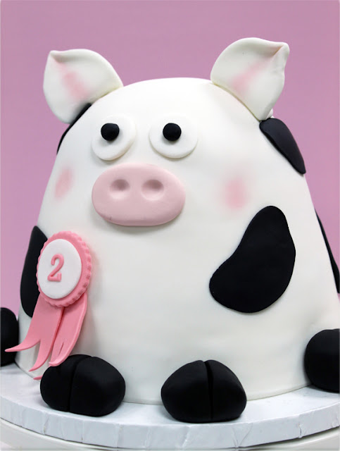 Cow Cake for Kids Birthday