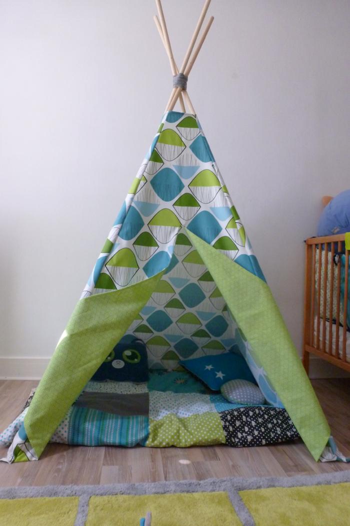 Biduldin collection tipi pour chambre d 39 enfant - Tipi pour chambre ...