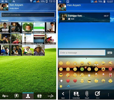 Download BBM Mod Transparan Update 2015