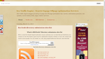 seo traffic engine Desktop website