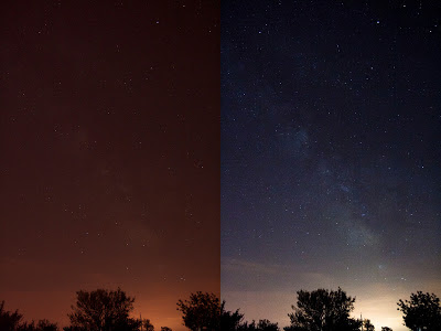 milky way image processing
