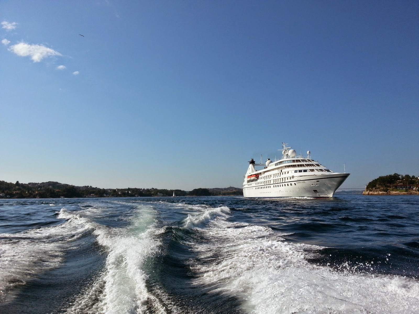 Seabourn Legend Cruise Ship Bergen