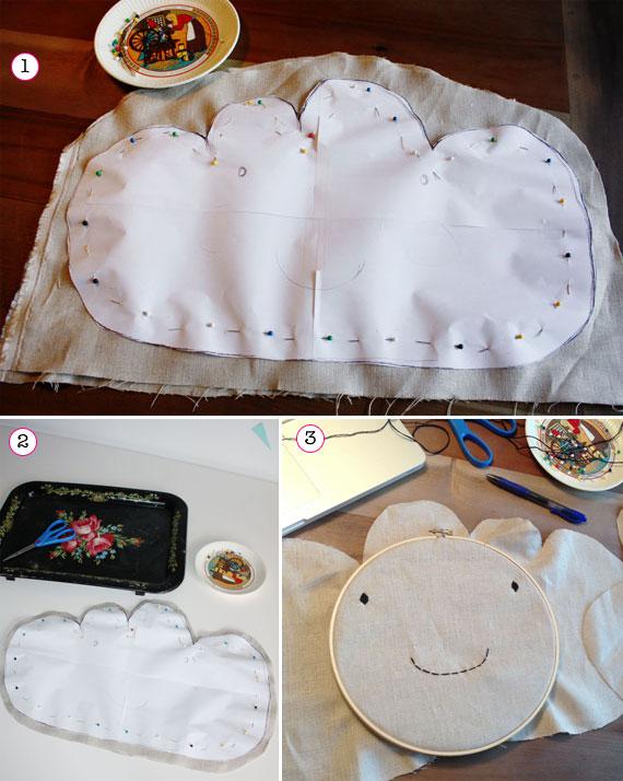 Naifandtastic decoraci n craft hecho a mano - Como hacer una nube ...