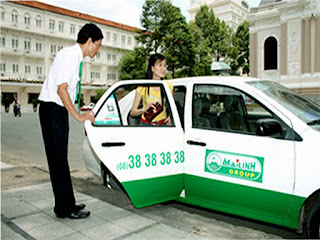 Taxi companies in Vietnam: Mailinh (Mai Linh)