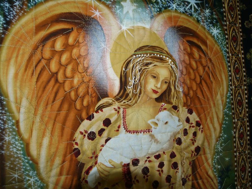 Leanne Strum Angel Quilt