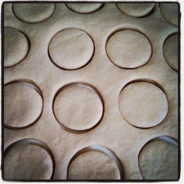 masa de scones de las tartas de zarina