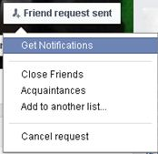 Resend a Facebook Friend Request