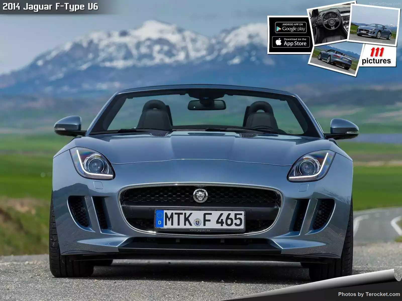 Hình ảnh xe ô tô Jaguar F-Type V6 2014 & nội ngoại thất