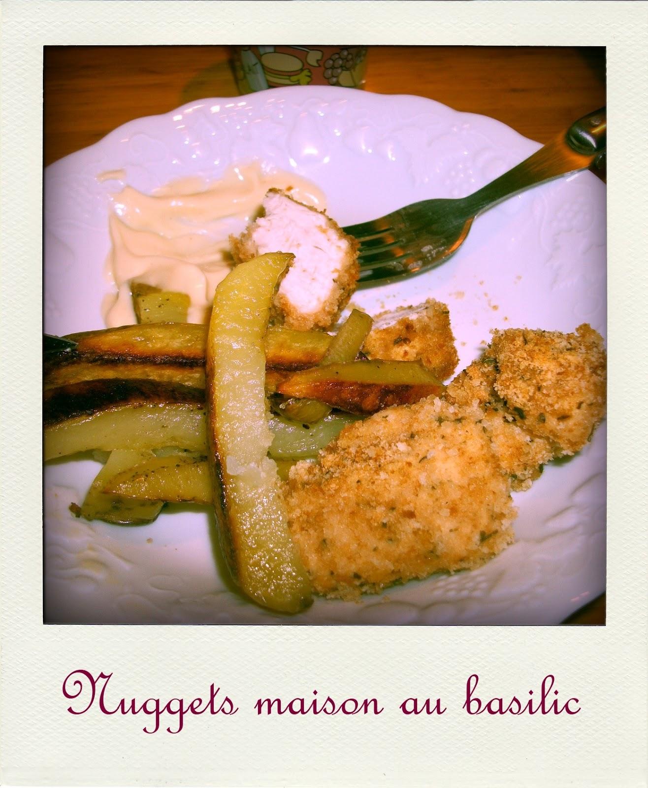 Brèves De Gourmandise: Nuggets Maison Au Basilic