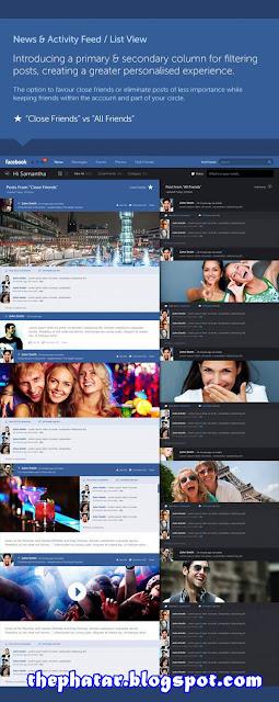 Tampilan Terbaru Facebook