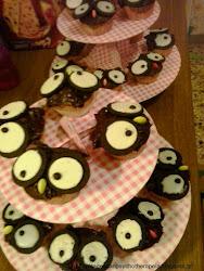 muffins κουκουβάγια
