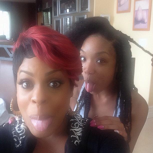 divasnapcom hair diva brandy back to rocking her