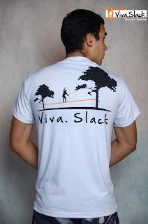 Graphic5 - Coleção Viva Slack - Slackline T-Shirts