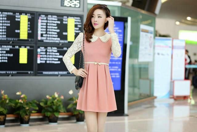 Model baju wanita korea lengan panjang modis terbaru