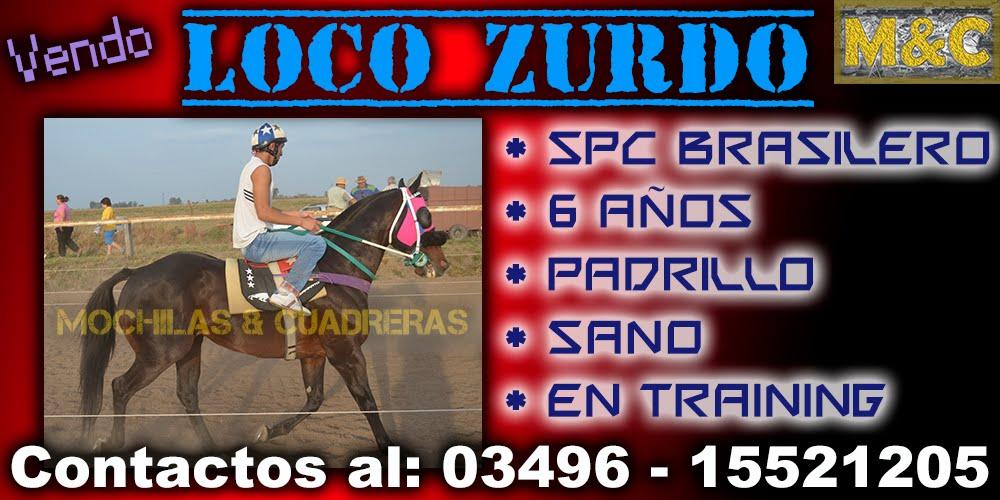 LOCO ZURDO - 01-10-15