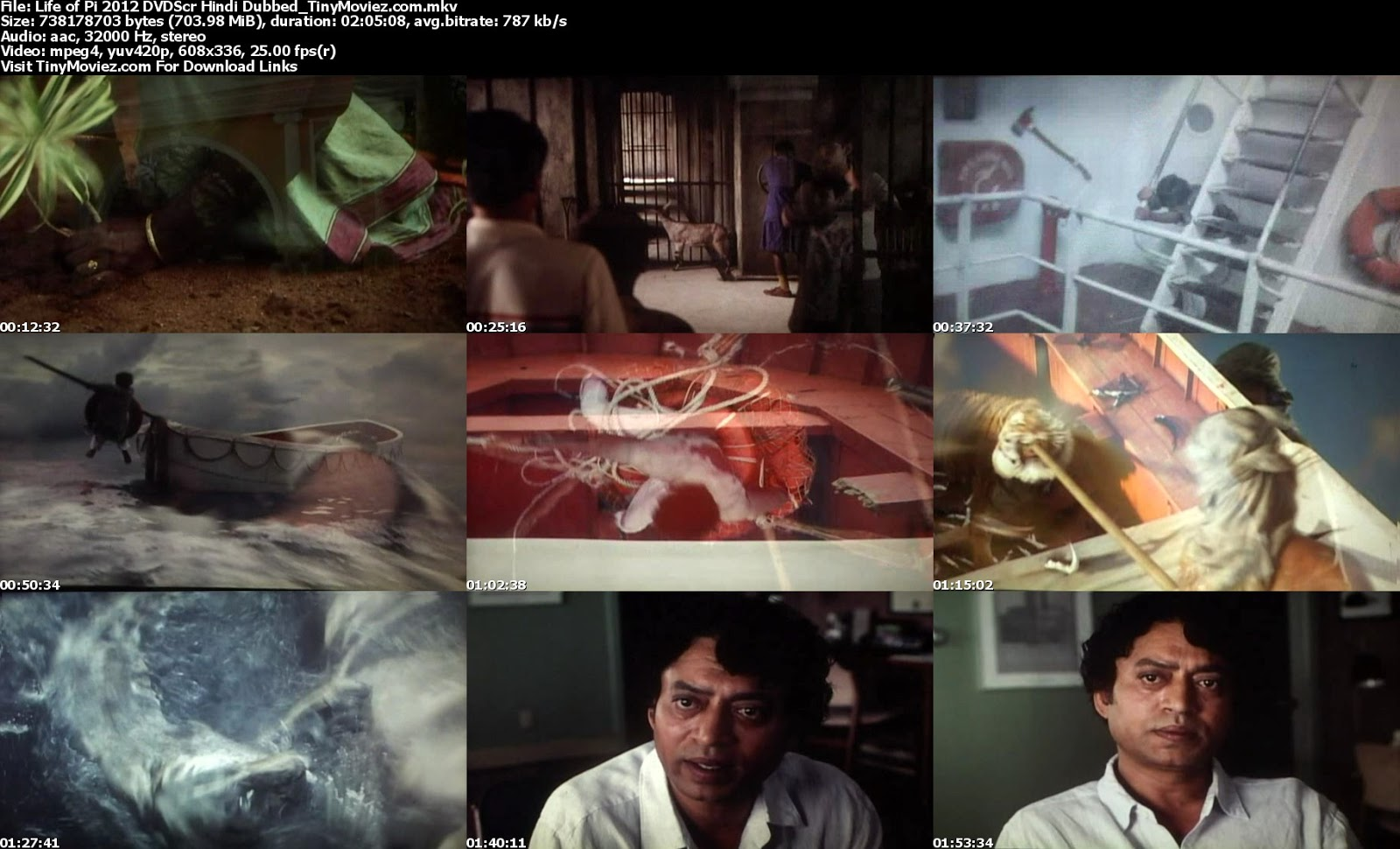 Life of pi 2012 dvdscr hindi dubbed 700mb download free for Life of pi in hindi