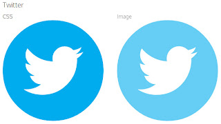 Logo Twitter em CSS3