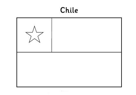 chile flag coloring page - banderas de todos los paises para colorear imagui
