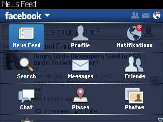 Download Facebook 2.0.0.50 For BlackBerry