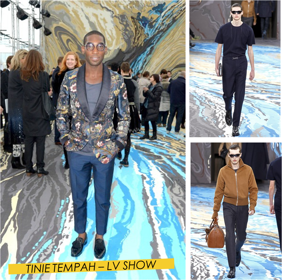 TINIE TEMPAH LOUIS VUITTON