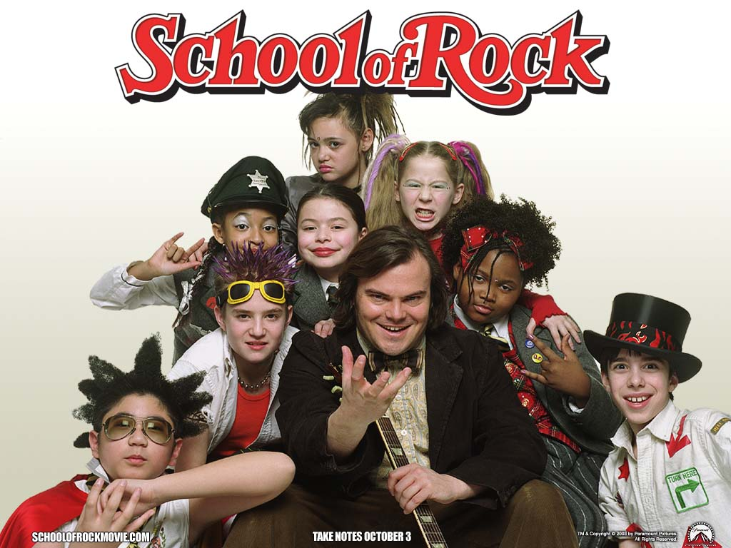school of rock speaking of time flying it was ten years ago this month that school of rock starring jack black was released last thursday the entire