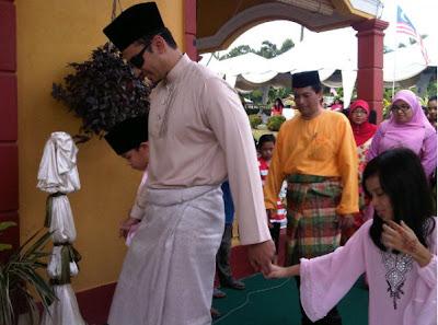 Gambar Pernikahan Memey Suhaiza-Norman Hakim
