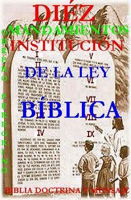CUARTO MANDAMIENTO DE LA LEY BÍBLICA