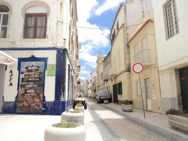 Streets of Nazare