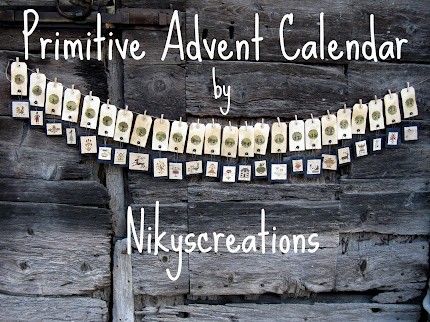 PRIMITIVE ADVENT CALENDAR
