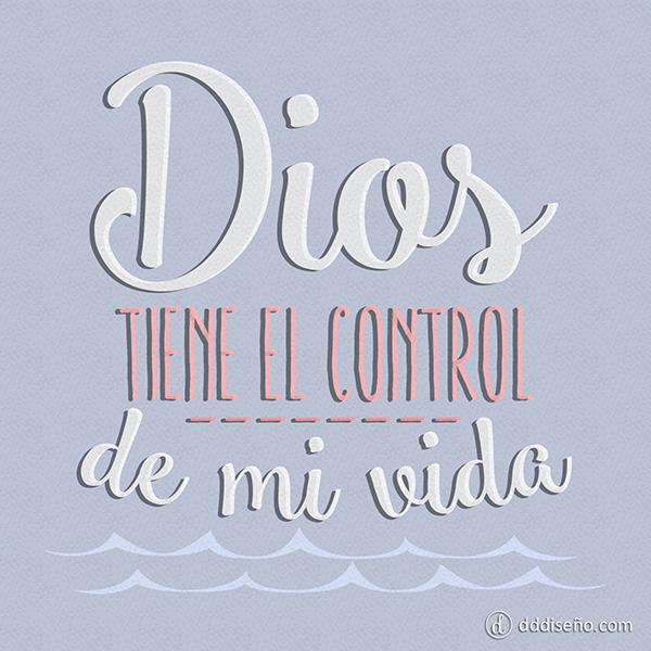 Mi vida está en las manos de Dios