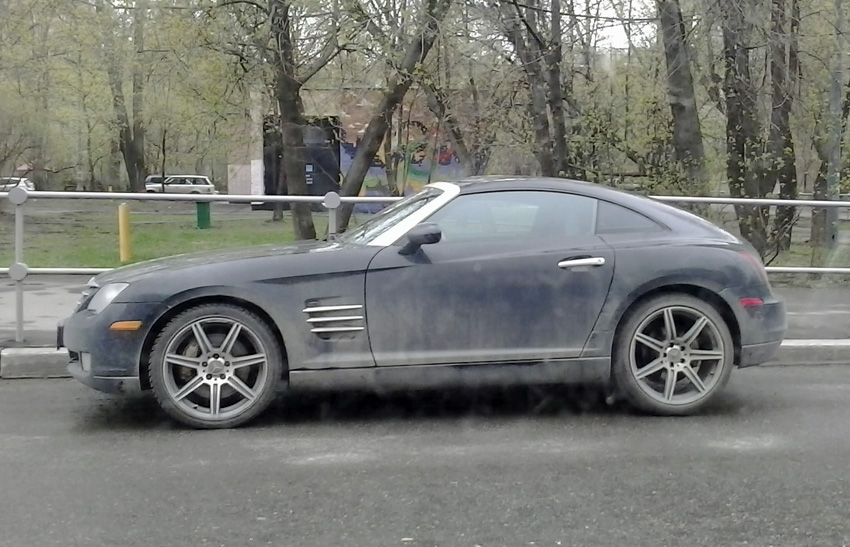 Spotted...cars in Moscow: Chrysler Crossfire