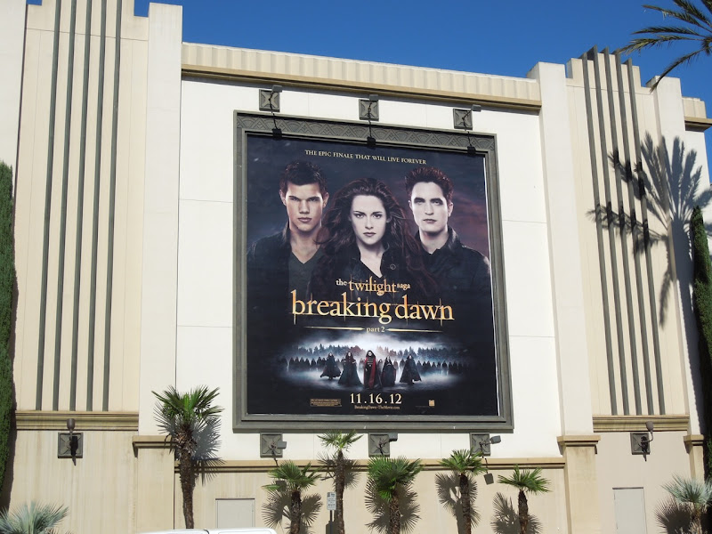 Twilight Breaking Dawn Part 2 movie billboard