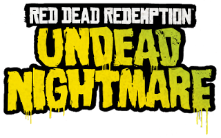 titre de l'extension Undead Nightmare du jeu Red Dead Redemption