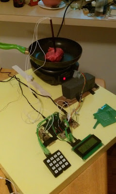 Automatic Temperature Control for Cooking Assistant