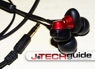 JVC Air Cushion in-ear headphones